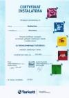 Certyfikat Tarkett 2013