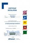Certyfikat Tarkett 2015