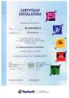 Certyfikat Tarkett 2010