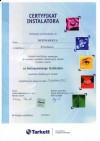 Certyfikat Tarkett 2012